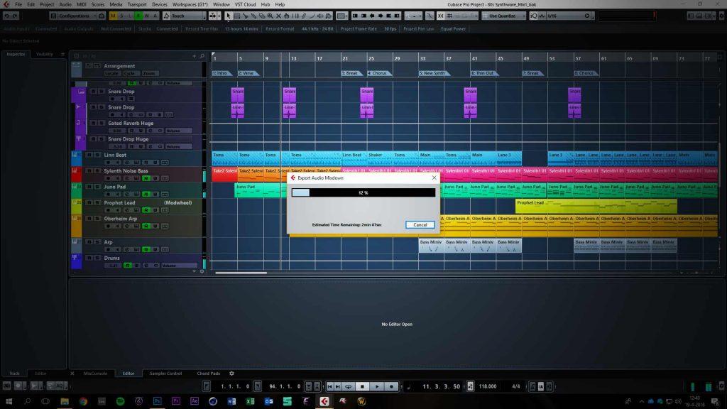 Exporting Audio Files