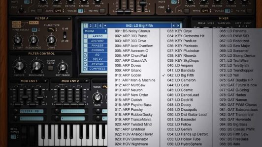 Using presets and samples