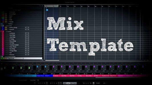Do I need a Mix Template?