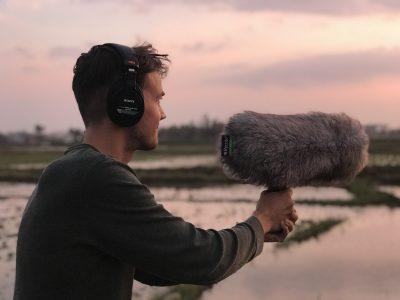 Recording Foley Sounds