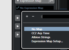 Expression Map Setup