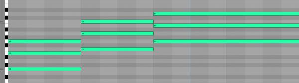 6e I IV V Chord Progression