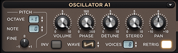 Sylenth1 Oscillator Section
