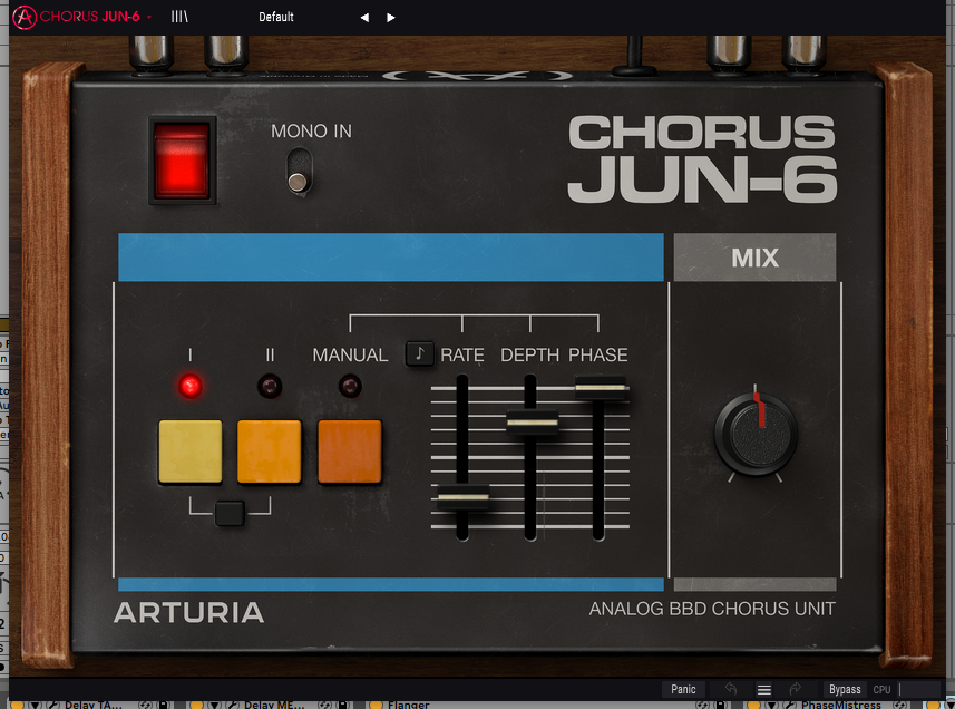 Arturia Juno-6 Chorus