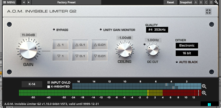 Invisible Limiter G2