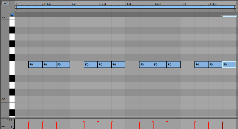 Typical Trance Bass Line