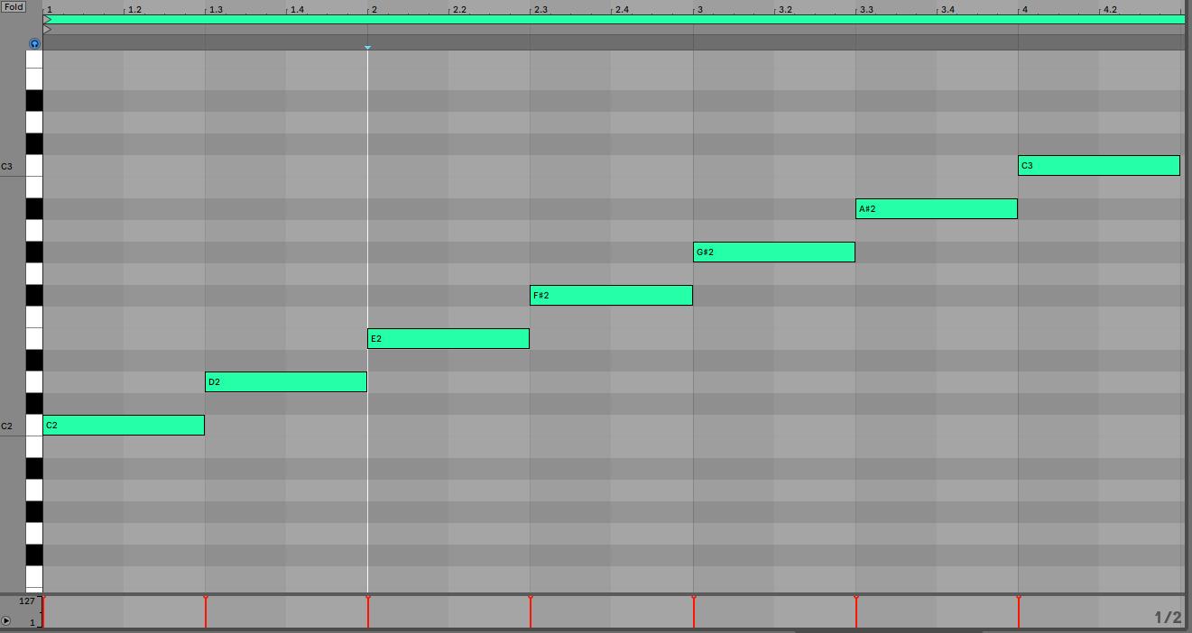Whole Tone Scale